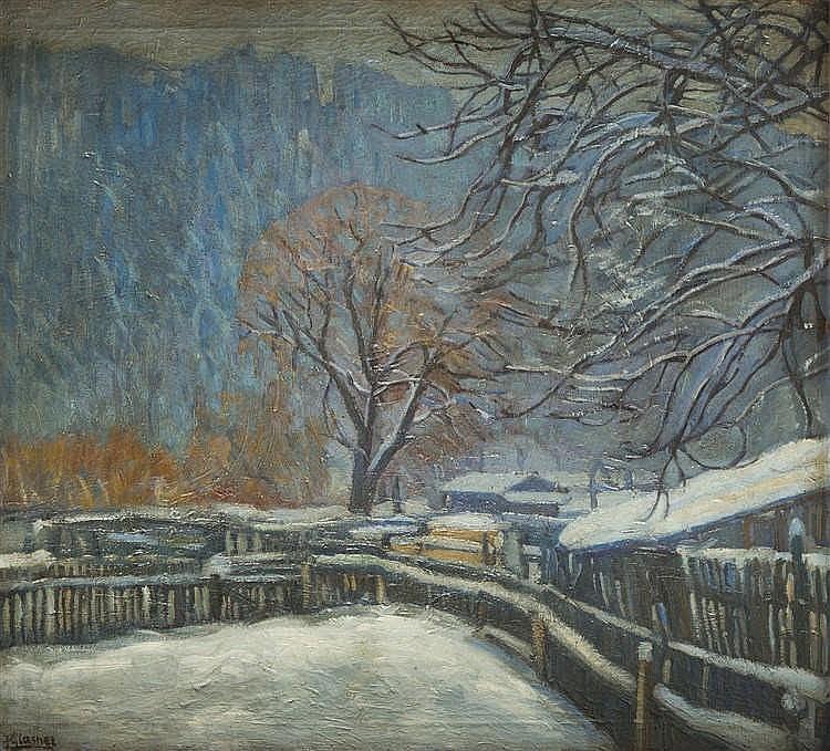 Jakub Glasner (1879 - 1942) Old Homestead