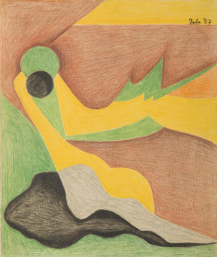 Jalu Kurek (1904 - 1983) Composition, 1927