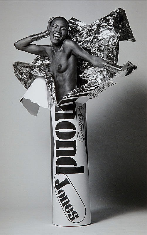 Pierre Houles (1945 - 1986) Grace Jones