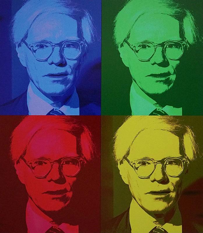 Allan Tannenbaum (b. 1945) Andy Warhol