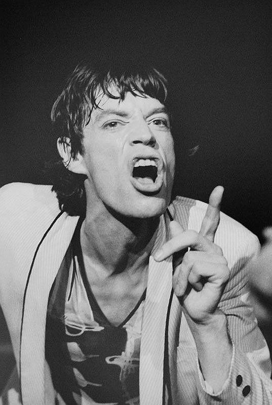 Allan Tannenbaum (b. 1945) Mick Jagger