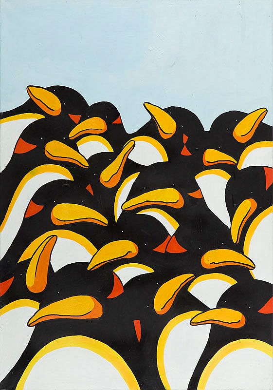 Marek Bieganowski (b. 1988) Penguins, 2016