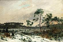 Adam Malinowski (1829 - 1892) On the Edge of the Forest, 1878