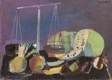 Rajmund Kanelba (1897 - 1960) Green Melons