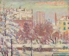 Czeslaw Rzepinski (1905 - 1995) City Landscape