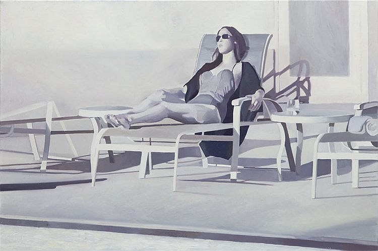 Justyna Posiecz-Polkowska (b. 1985) Swimming pool II, 2015