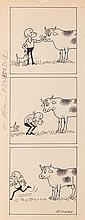 """Zbigniew Lengren (1919 - 2003) Filutek - picture story for """"Przekroj"""" magazine, no. 2413, 1991"""