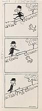 """Zbigniew Lengren (1919 - 2003) Filutek - picture story for """"Przekroj"""" magazine, no. 2245, 1988"""