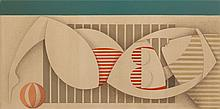 Anna Zalewska (b. 1985) Imagination is hurring airiness, 2018, 60 x 120 cm