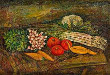 Leon Weissberg (1893 - 1943) Still life with vegetables