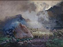 "Stanislaw Galek (1876 - 1961) ""Tatras"", 1917"