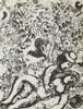 Marc Chagall (1887 - 1985) Couple under a tree, 1963, Marc Chagall, PLN600
