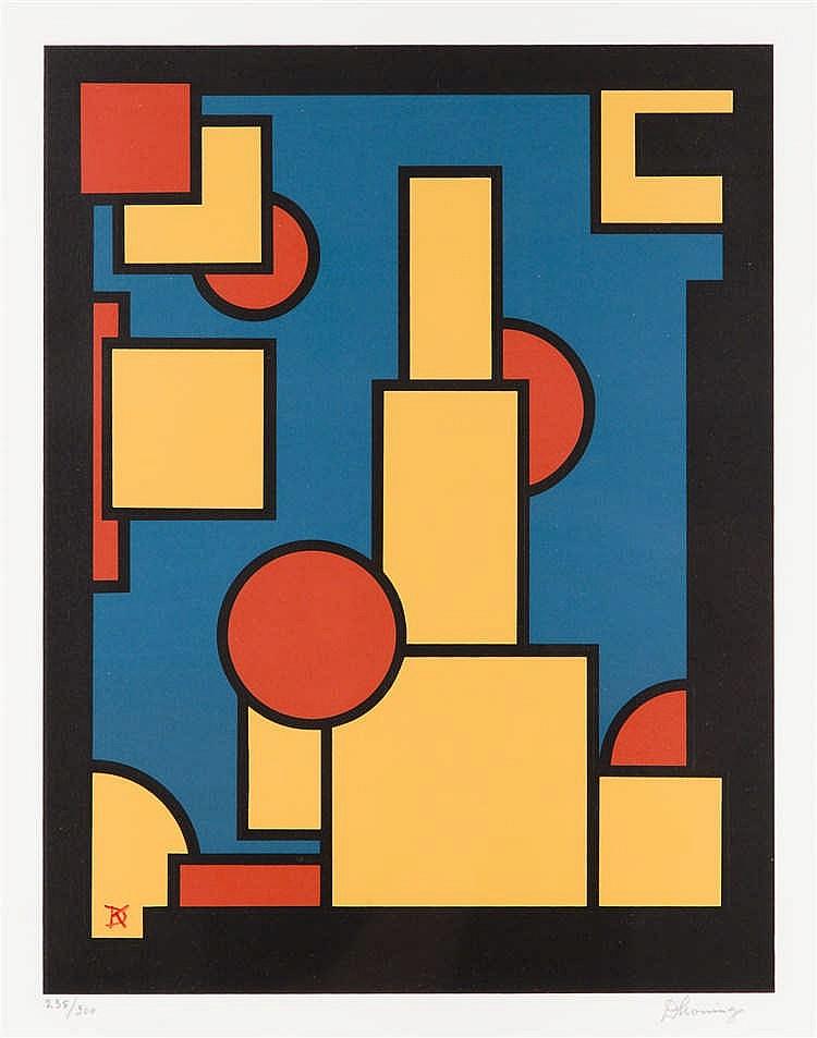 Dirk Koning (1888 - 1978) Netherlands, circa 1970