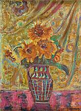 Czeslaw Rzepinski (1905 - 1995) Flowers in vase