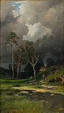 Alexandr Aleksandrovich Kiselev (1838 - 1911) Before the storm