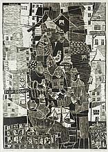 "Stefan Suberlak (1928 - 1994) ""Purchasing of Poultry"" , 1961"