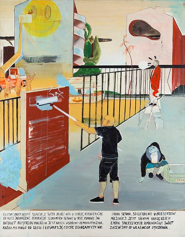 Slawek Czajkowski / Zbiok (b. 1982) ''This whole street art'', 2012