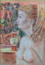 """Czeslaw Rzepinski (1905 - 1995), """"Female Nude"""""""