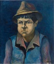 Rajmund Kanelba (Kanelbaum) (1897 - 1960) The portrait of a young men