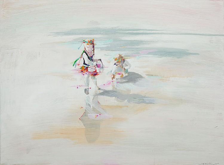 Marta Szarek- Michalak (b. 1979) Flakes pouring ..., 2015