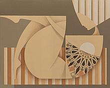 Anna Zalewska (b. 1985) Charm is overdressing pride, 2018, 81 x 100 cm