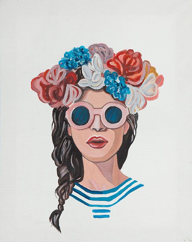 Pawel Porada (b. 1985) Flowers in the hair, 2015