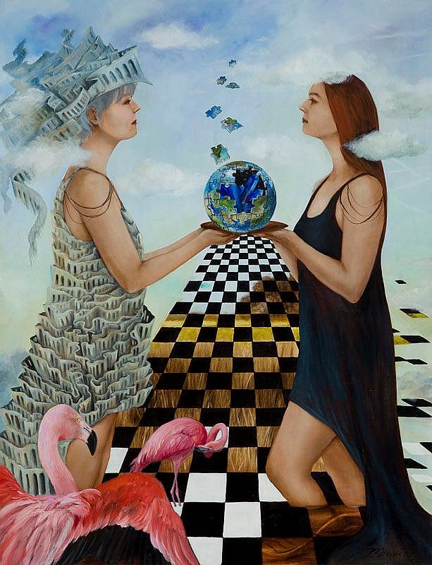 Patrycja Kruszynska-Mikulska (b. 1973) New Earth, 2015