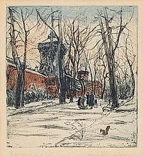 "Leon Kowalski (1870 - 1937) ""The Turrets of Cracow"", circa 1935"