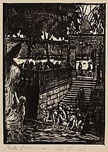 """Leon Kowalski (1870 - 1937) """"Skalka (Polish Lourdes) """""""