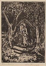 "Leon Kowalski (1870 - 1937) ""Lord Jesus of Flowers"""