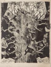 "Stefan Suberlak (1928 - 1994), ""Spring 5"", 1963 r."