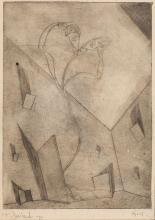 "Tadeusz Cieslewski (syn), (1895 - 1944), ""Nightmare"", 1924"