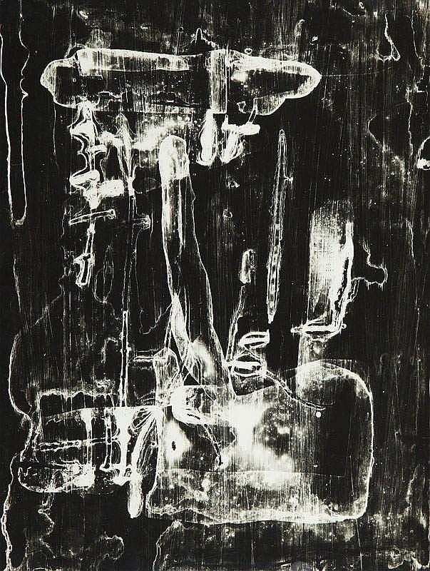 Bronislaw Schlabs (b. 1920) Photogram 41/60, 1960
