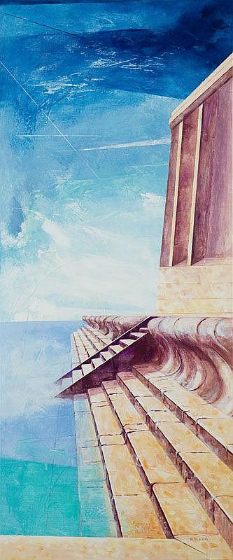 Marta Bilecka (b. 1975) Atlantis Library, 2015