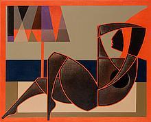 Anna Zalewska (b. 1985) I lost ideals of crumbly soul, 2019, 80 x 100 cm
