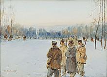 Unknown Painter, 1st half of 20th century Hunt