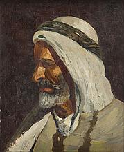 Nandor Vagh - Weinmann (1906 - 1960) Head of an Arab