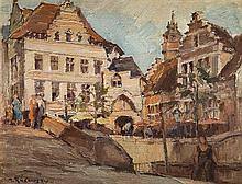 Mieczyslaw Rakowski (1882 - 1947) Cityscape