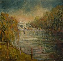 Stefan Rassalski (1910 - 1972) Lazienki Palace, 1950