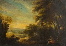 Unknown Painter, 17th century Mythological Landscape