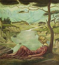 Max Block (1890 - 1953) Lost in Thought