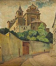 Ignacy Pinkas (1888 - 1935) Saint Anna Church in Warszawa
