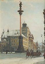 Wladyslaw Chmielinski (1911 - 1979) Sigismund's Column