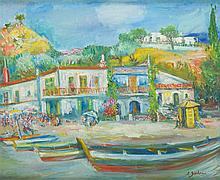 Jakub Zucker (1900 - 1981) Landscape