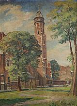 Stanislaw Zurawski (1889 - 1976) Corpus Christi Church in Krakow