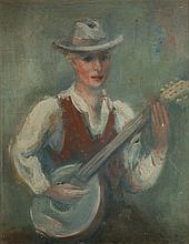 Jakub Zucker (1900 - 1981) Mandolin Player
