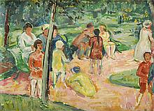 Hans Hoehl Company in a Park