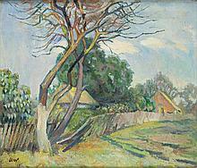 Kazimierz Wasowicz (1888 - 1962) Spring Landscape, 1962