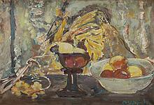Czeslaw Rzepinski (1905 - 1995) Still Life with Apples