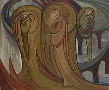 Franciszek Siedlecki (1867 - 1934) Inbetween Worlds